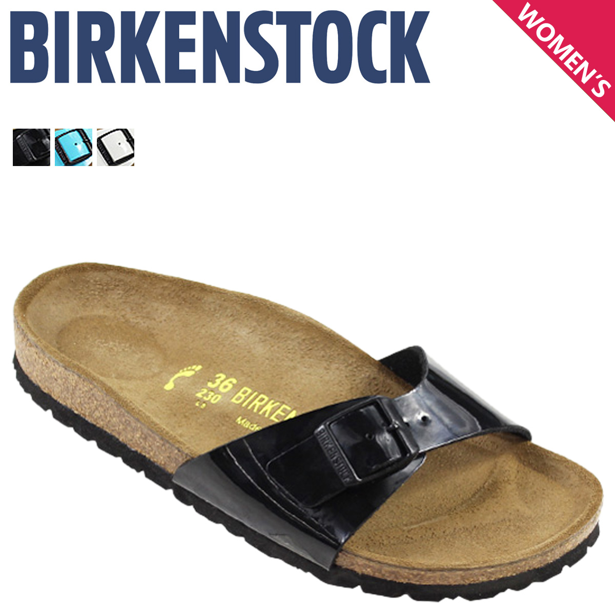 Point twice  pre-order items» «5   22 around stock» Birkenstock BIRKENSTOCK  vilken ladies Madrid sandal MADRID narrow width synthetic leather 2015  spring ... 36cb991a0e6
