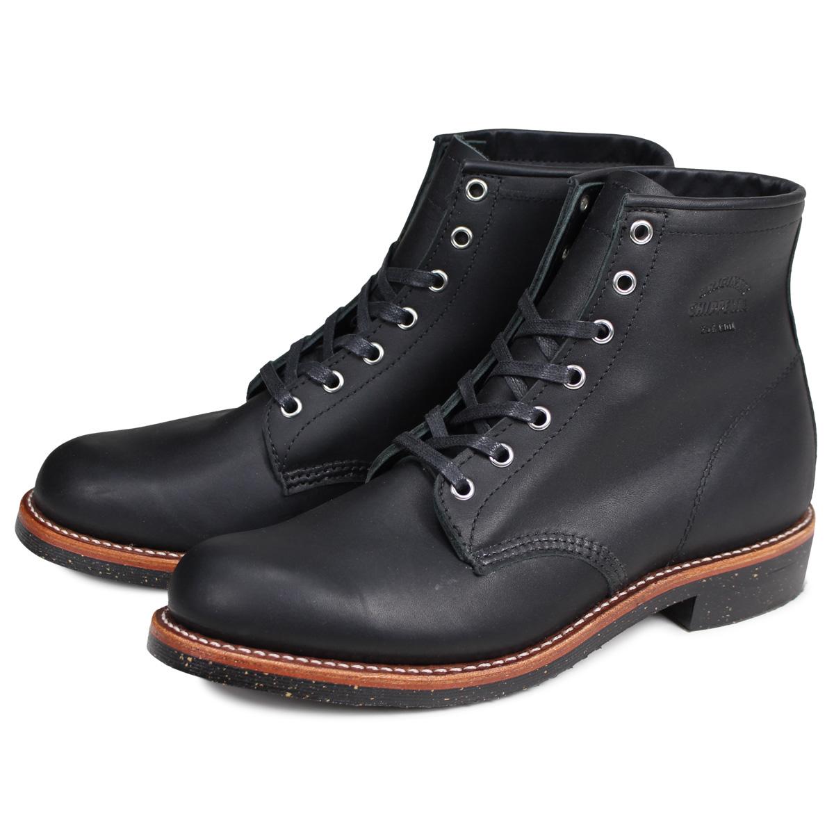 CHIPPEWA チペワ 6INCH SERVICE BOOT ブーツ 6インチ サービス ブーツ 1901M24 Dワイズ ブラック メンズ