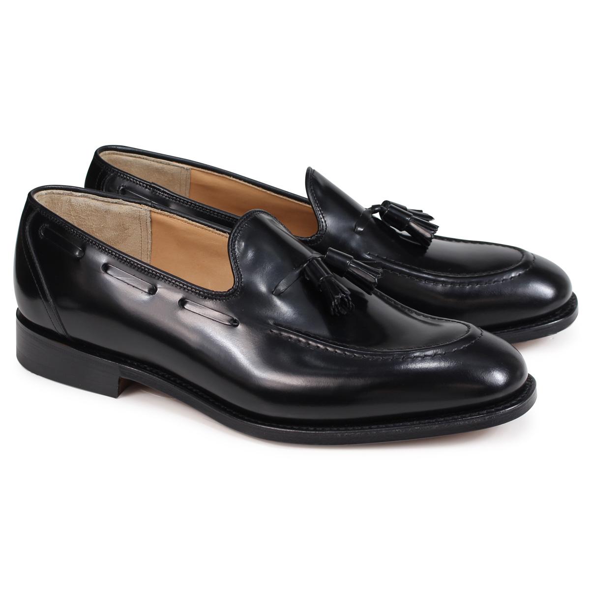 Churchs KINGSLEY 2 POLISHED BINDER チャーチ 靴 キングスレー 2 ローファー メンズ タッセルローファー メンズ EDB027 ブラック