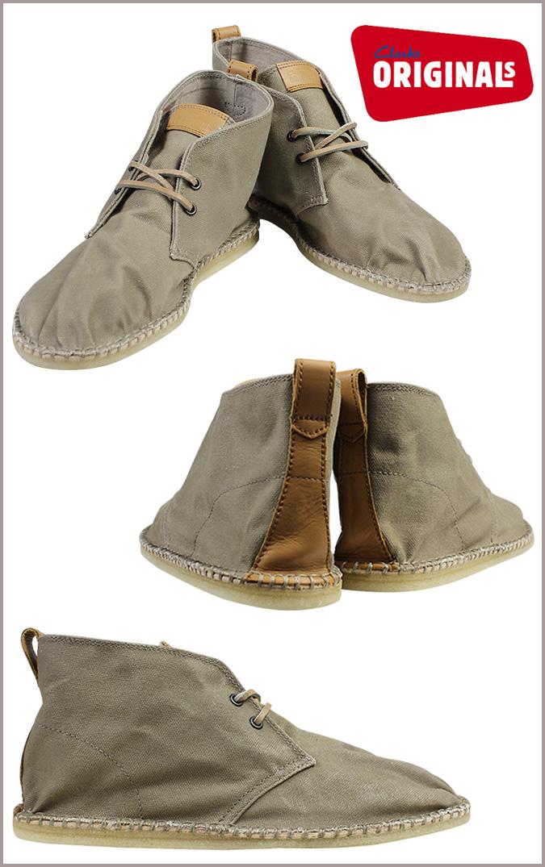 0ad5bbb6 Point 2 x Clarks originals Clarks ORIGINALS Picco Alto desert boots PIKKO  ALT DESERT BOOT canvas men's desert boot 26069967 sand [10 / 22 new in ...