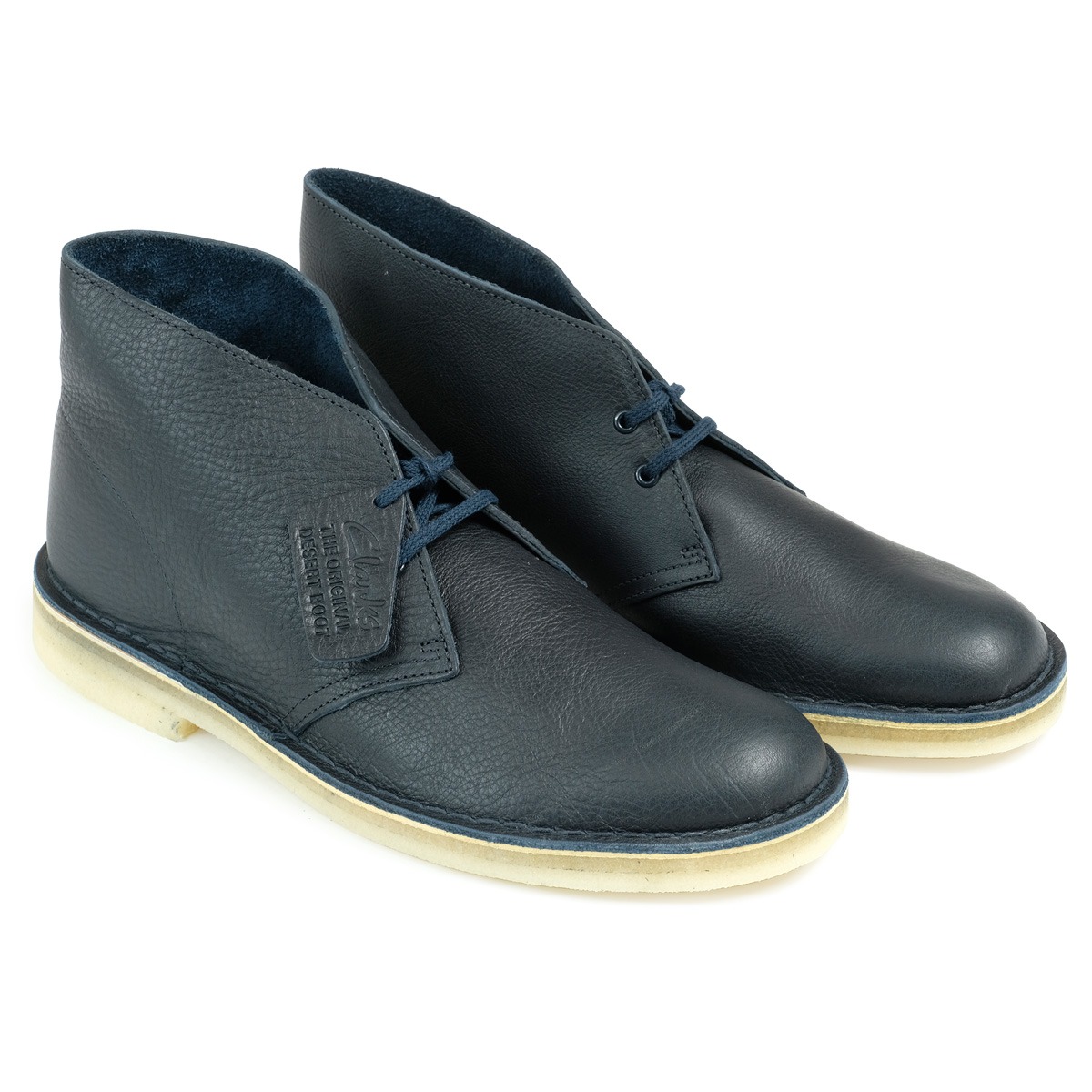 a81aa25f5e9 26125548 CLARKS DESERT BOOT kulaki desert boots men leather shoes navy  [load planned Shinnyu load in reservation product 10/23 containing] [1710]