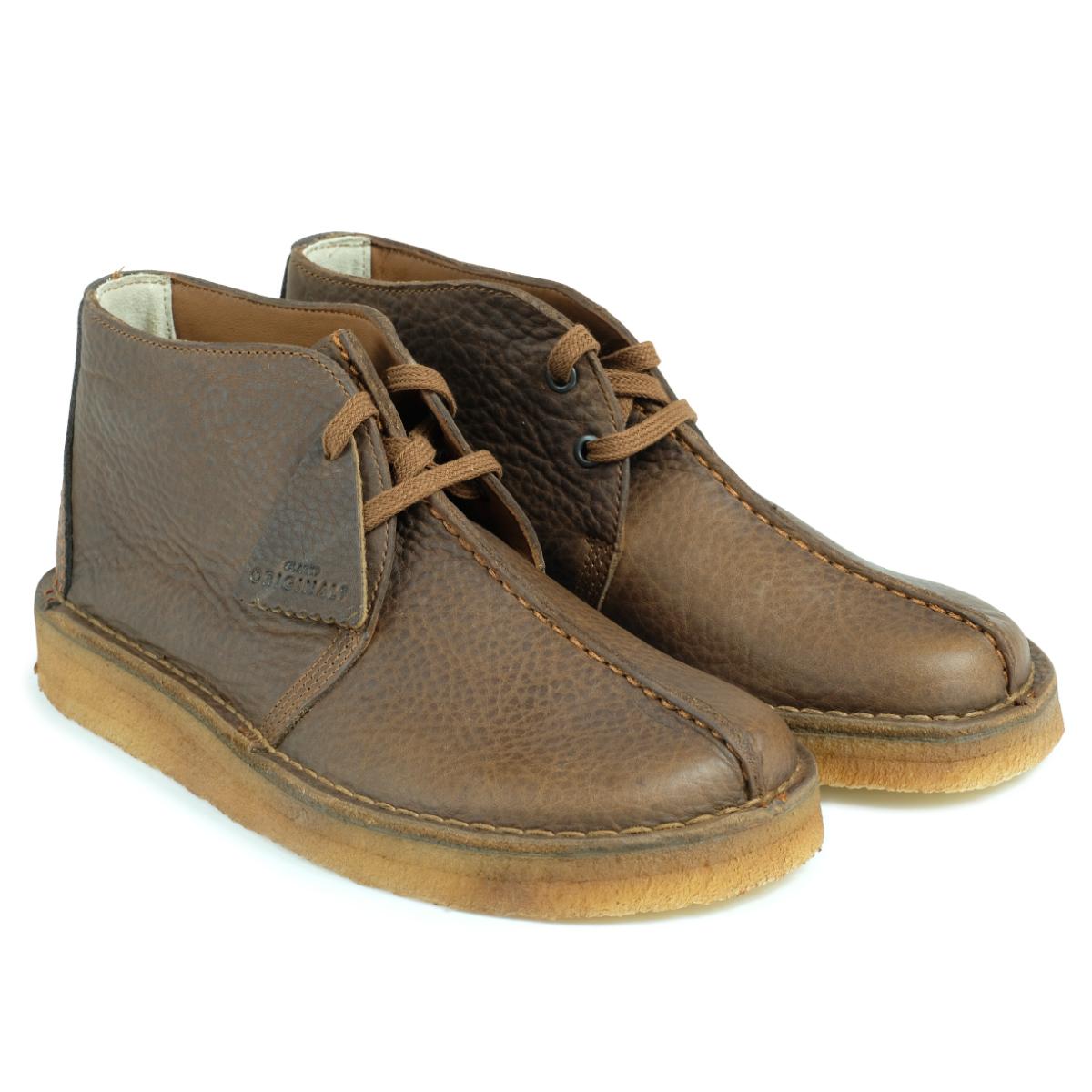 cb2a8db0cf Clarks DESERT TREK HI kulaki dessert trek boots men 26128364 shoes brown  [load planned Shinnyu load in reservation product 10/23 containing] [1710]