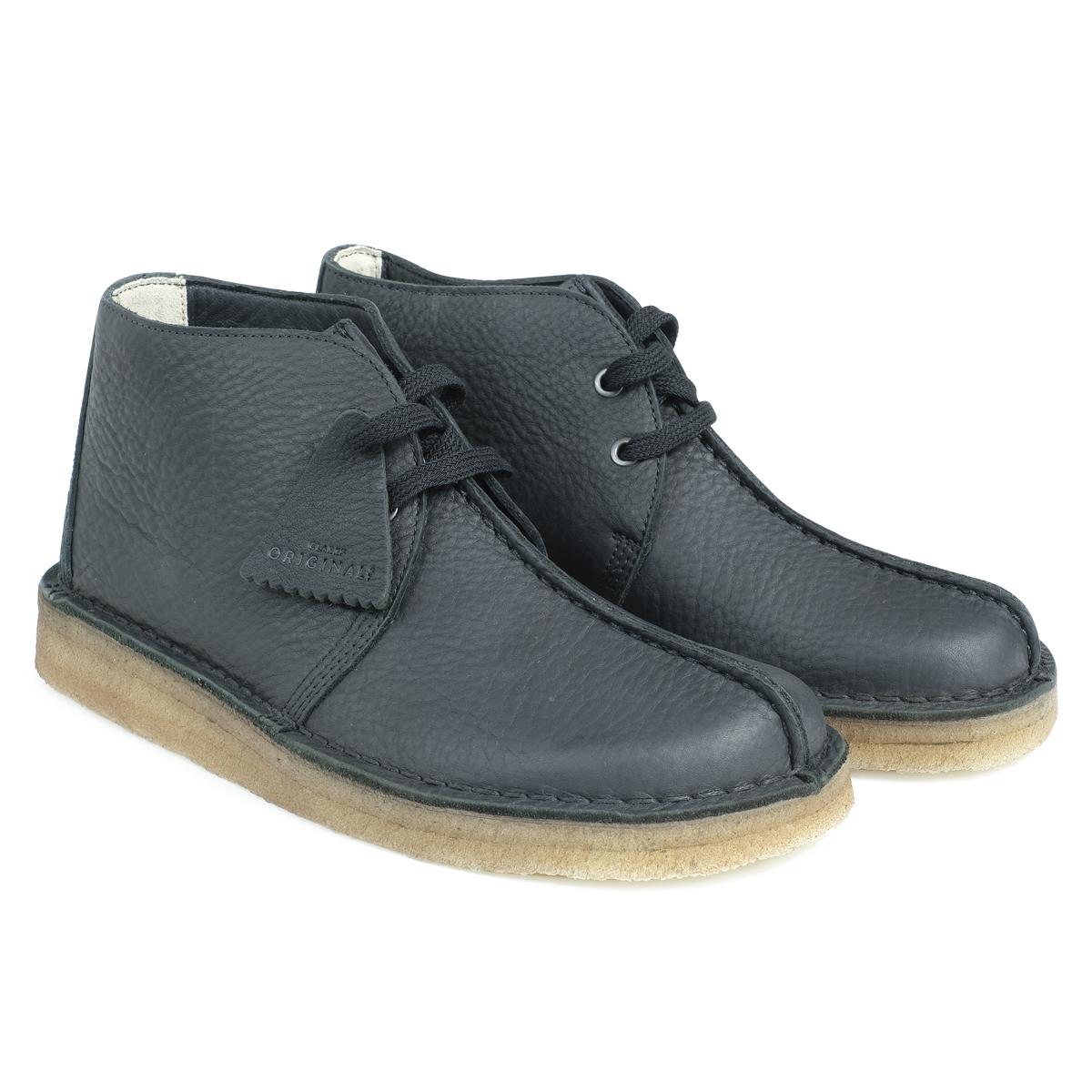 Clarks DESERT TREK HI クラークス デザートトレック ブーツ メンズ 26128366 靴 ブラック