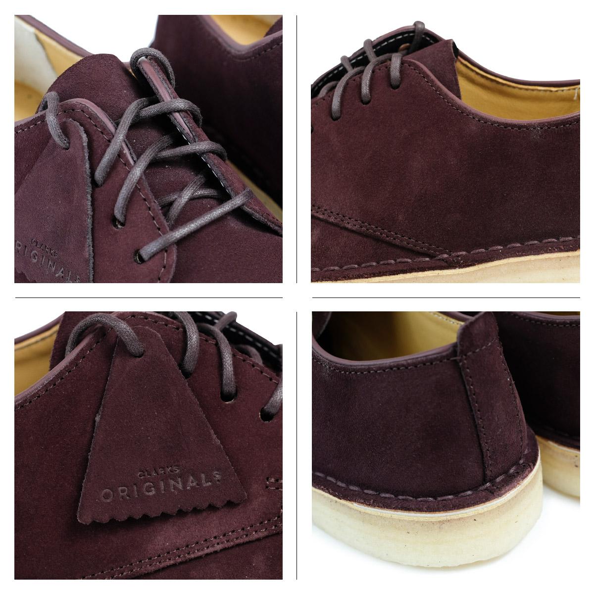 geschickte Herstellung akzeptabler Preis heißer verkauf billig Clarks DESERT LONDON kulaki dessert London shoes men 2628511 shoes burgundy  [1711]