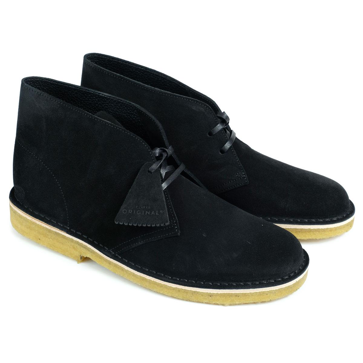 Clarks DESERT BOOT クラークス デザートブーツ メンズ 26128537 レザー 靴 ブラック
