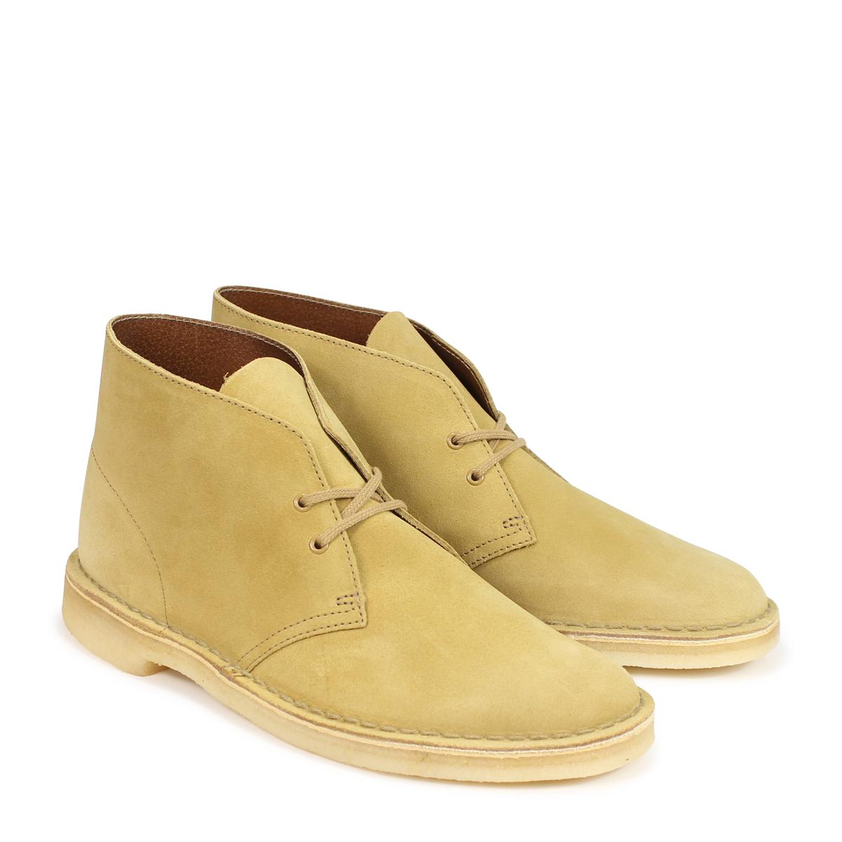 26138233 Clarks DESERT BOOT kulaki desert boots men light brown [189]