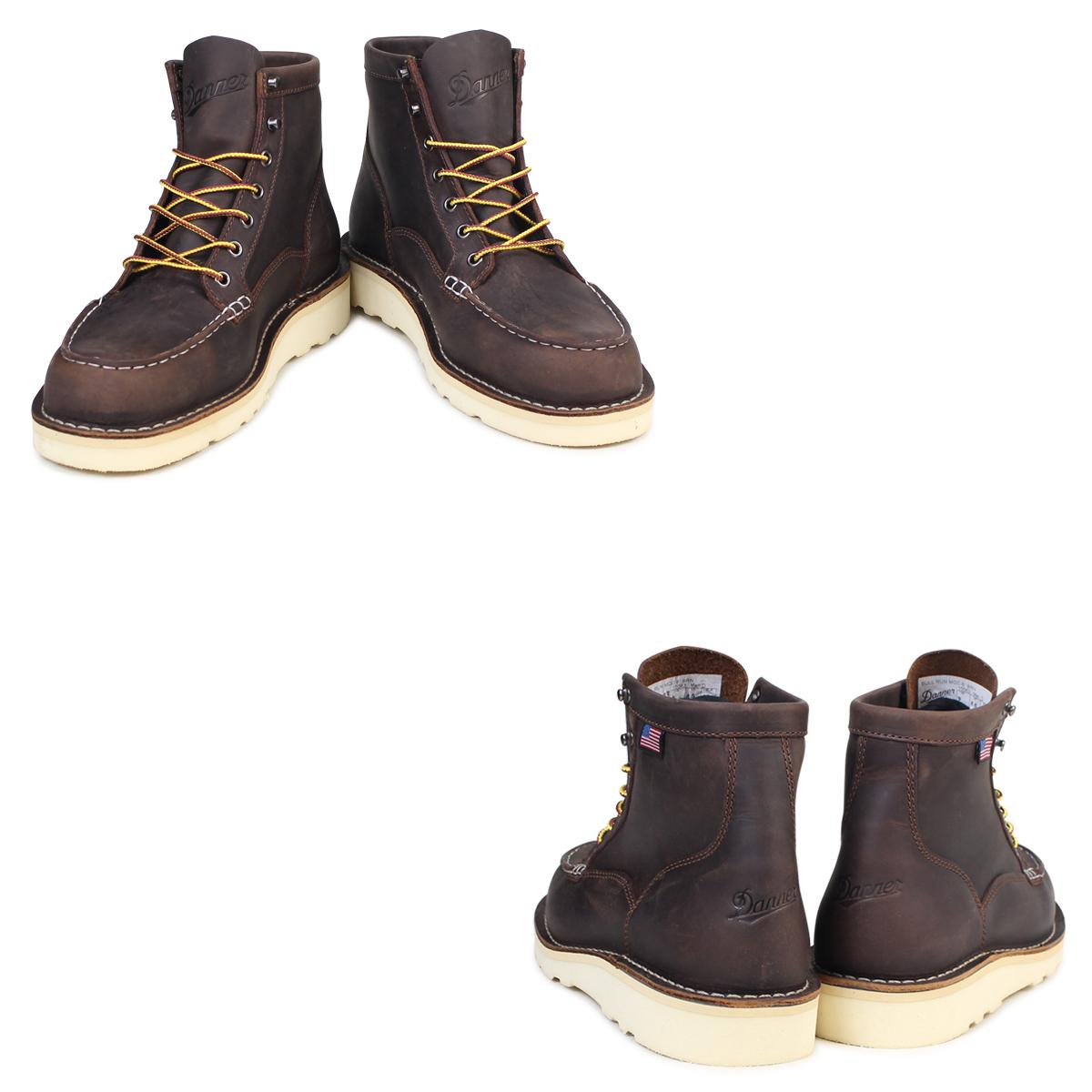 f7e41605c07 Danner boots Danner BULL RUN MOC TOE 6INCH 15563 D Wise men brown