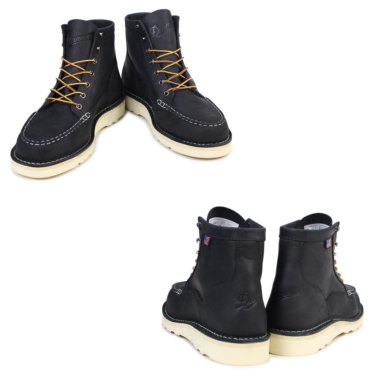 7fa558236a1 Danner boots Danner BULL RUN MOC TOE 6INCH 15569 EE Wise men black
