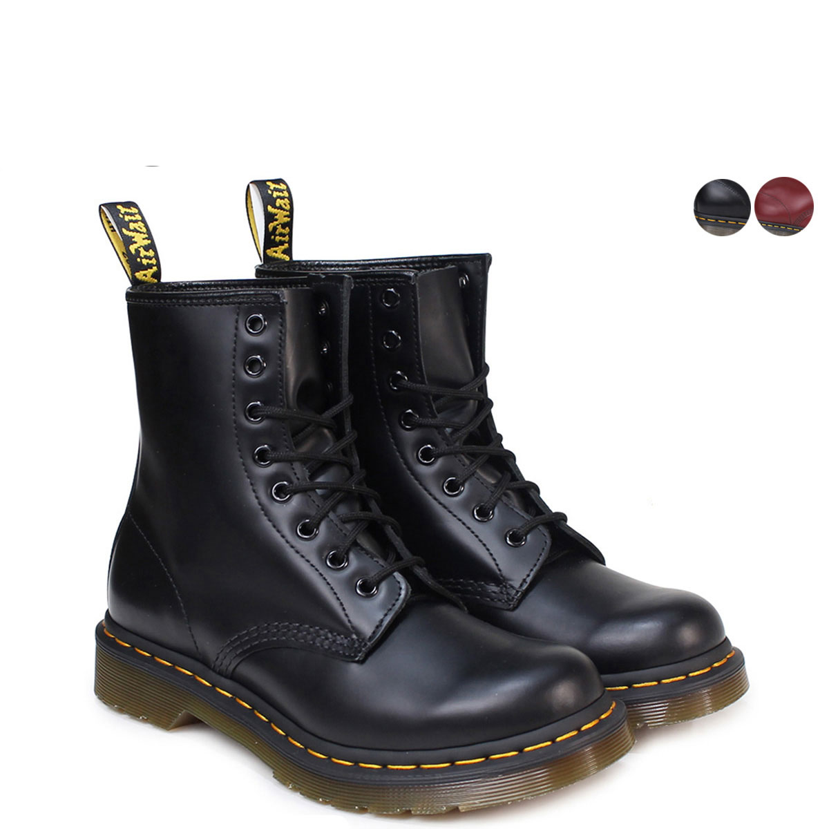 7248e3b9b0 Point 2 x Dr. Martens Dr.Martens 1460 WOMENS Ladies 8 hole boots MATERIAL  ...