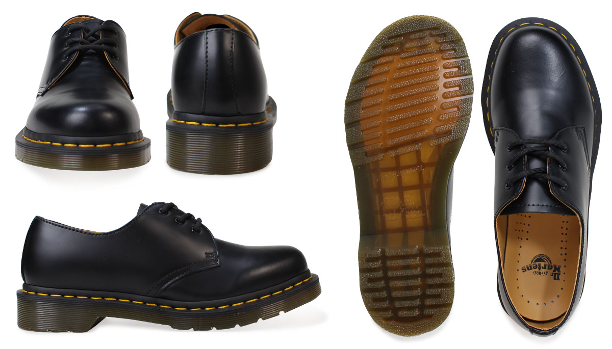«Reservation goods» «10 / 22 around stock» Dr. Martens 1461 WOMENS 3 Dr.Martens Hall shoes 11837002 11837600 MATERIAL UPDATES Leather Womens mens