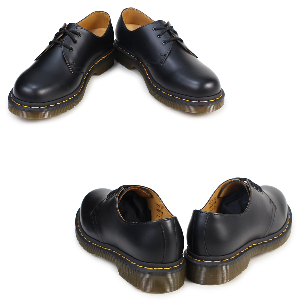 Dr. Martens 1461 3 Dr.Martens Hall shoes 11838002 11838600 MATERIAL UPDATES leather men women