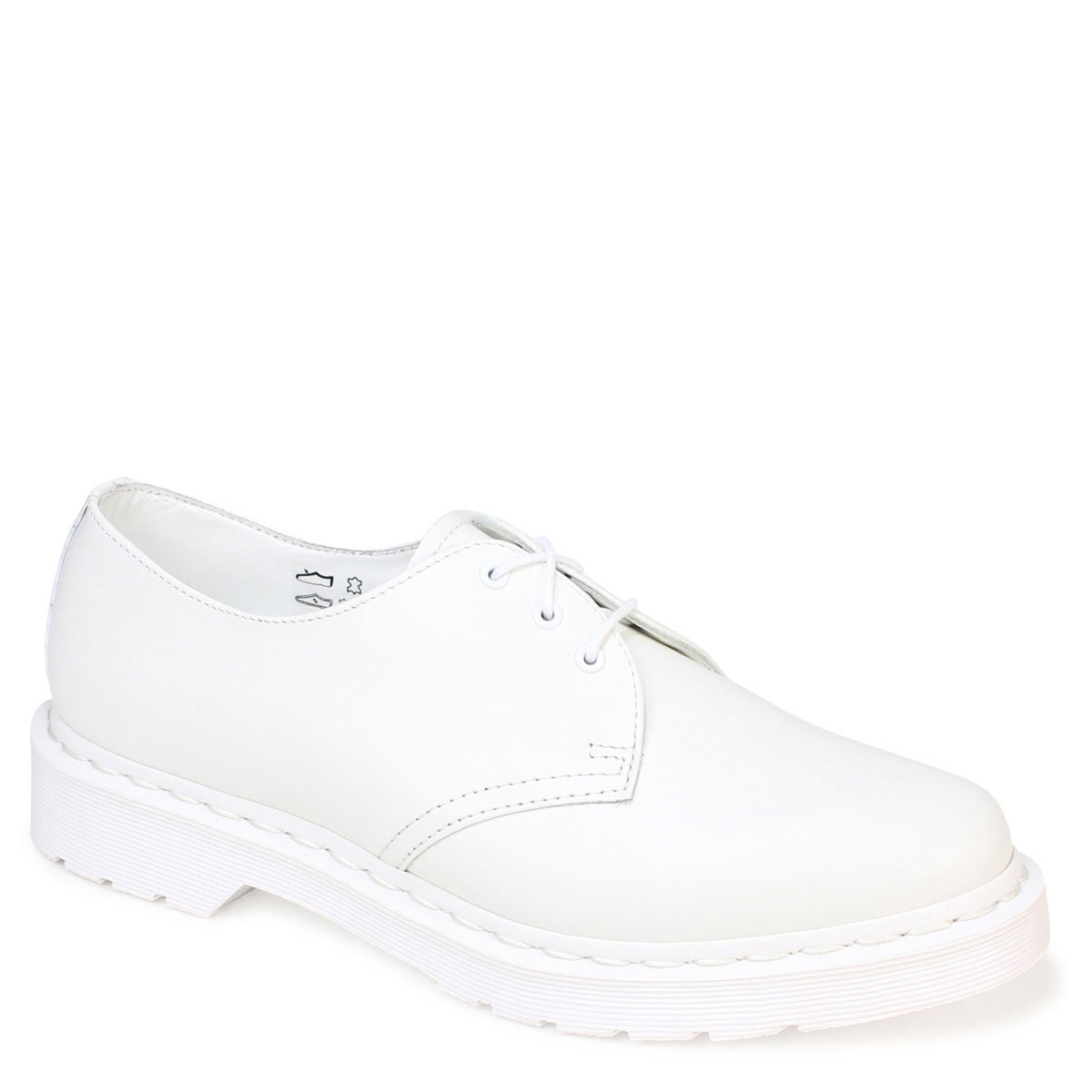 1461 3 Sold Out Doctor Martin Dr Martens Hall Shoes White R14346100 Core S Mousse Leather Men Gap Dis 3eye Shoe Uni Regular