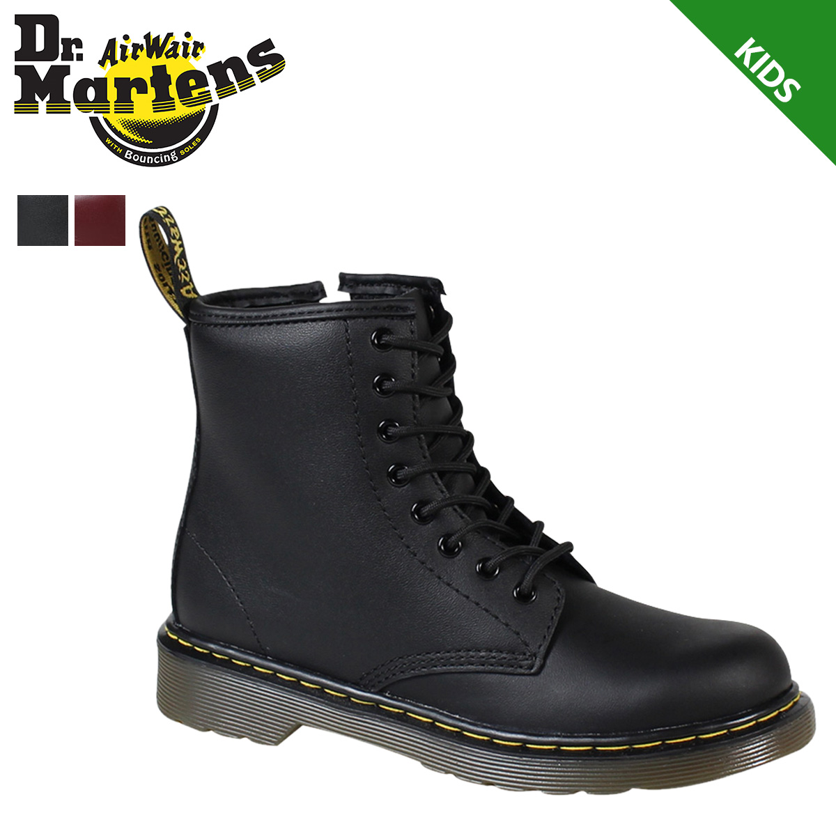ALLSPORTS  Dr. Martens Dr.Martens 8 hole boots kids CORE DM J BOOT ... 89b86efc5a40