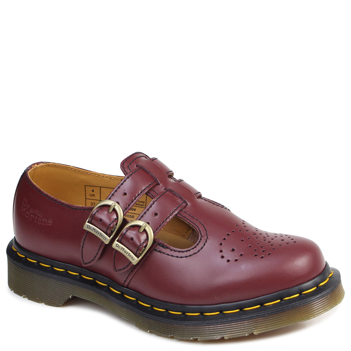 1c05b443055d Dr.Martens Mary Jane Lady s doctor Martin shoes CORE 8065 MARY JANE  R20159600 burgundy  8 2 Shinnyu load   178