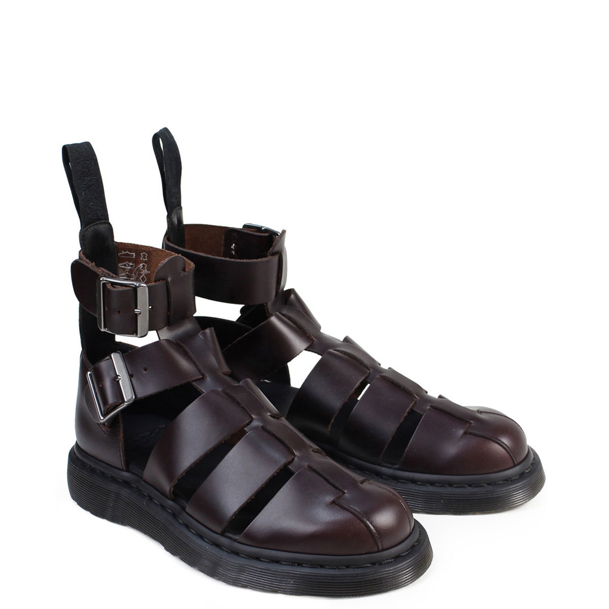 30cee19727c7 Dr.Martens GERALDO STRAP SANDALS doctor Martin sandals men gap Dis  R20769211 cherry red  the 4 24 additional arrival   194