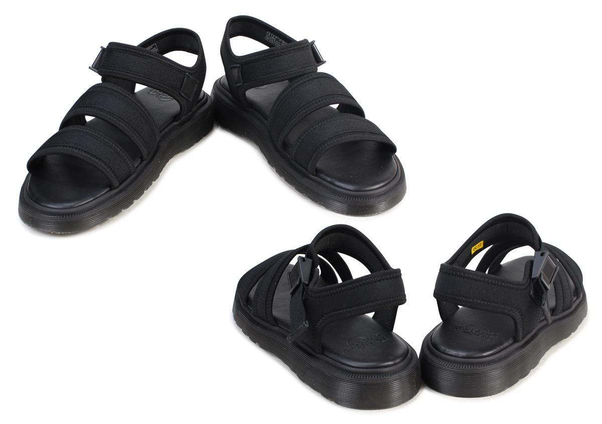 Dr.Martens EFFRA TECH 2 STRAP SANDAL ドクターマーチンサンダルクルーエフラテック 2 strap men gap Dis black black R21136001