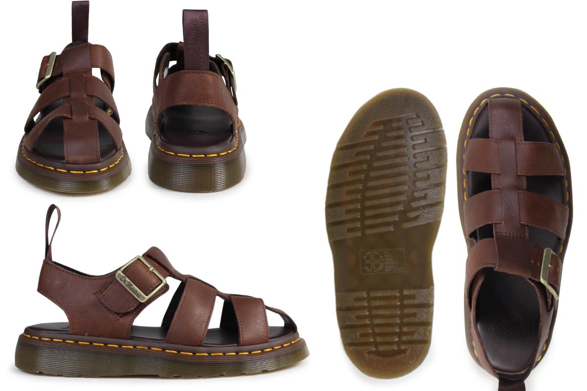 8431e54057e4 Dr.Martens sandals Lady s men doctor Martin leather SHORE GALIA FISHERMAN  SANDAL R21899220 brown  the 7 12 additional arrival   177