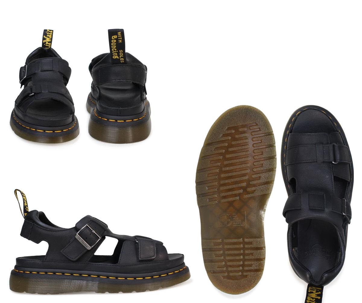 Black sandals grunge - Dr Martens Sandals Lady S Men Doctor Martin Leather Shore Hayden Grunge Sandal R22168001 Black