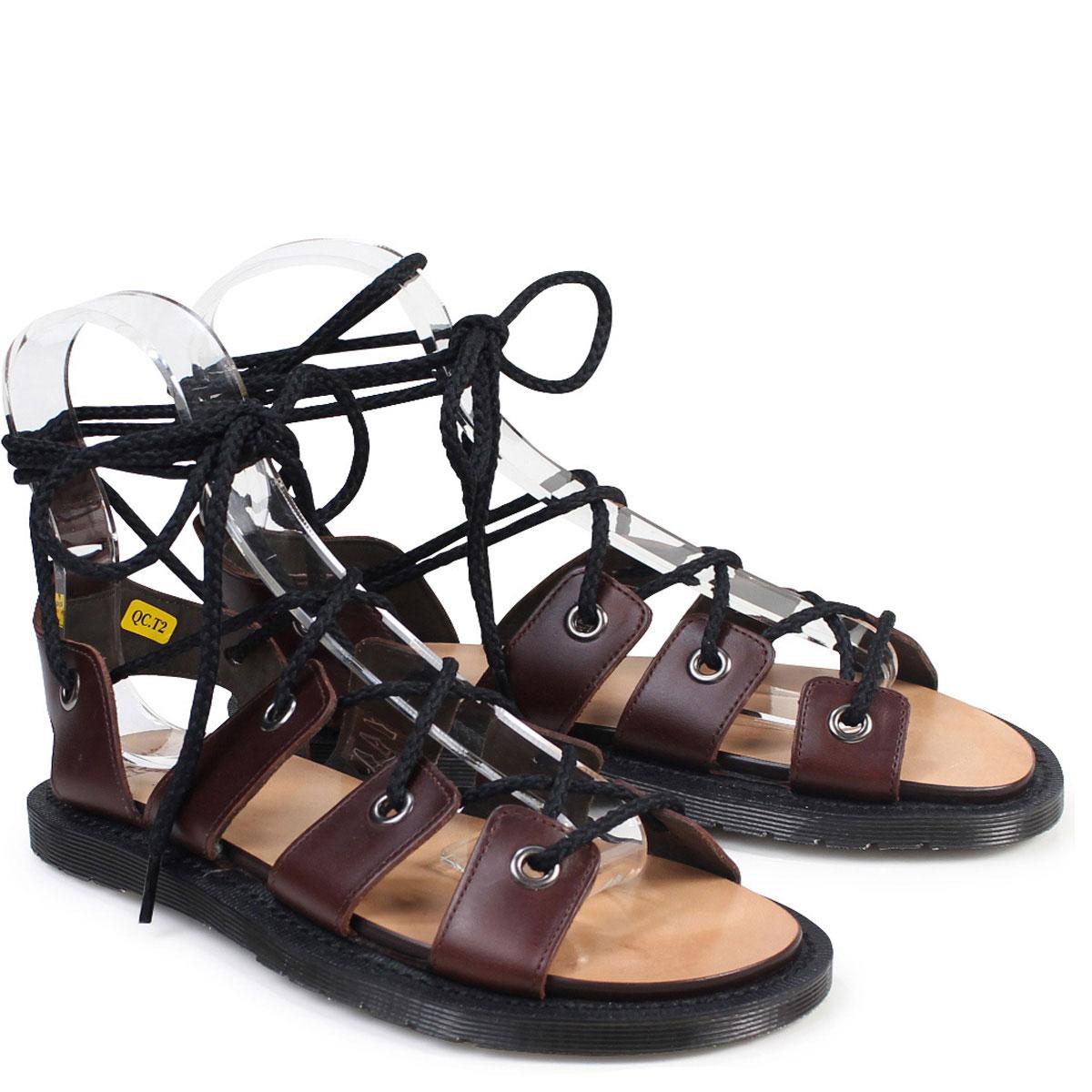 5fe83d4f5a1 Dr.Martens sandals Lady s doctor Martin WOMENS JASMINE GHILLIE SANDAL  R22239220 brown  176