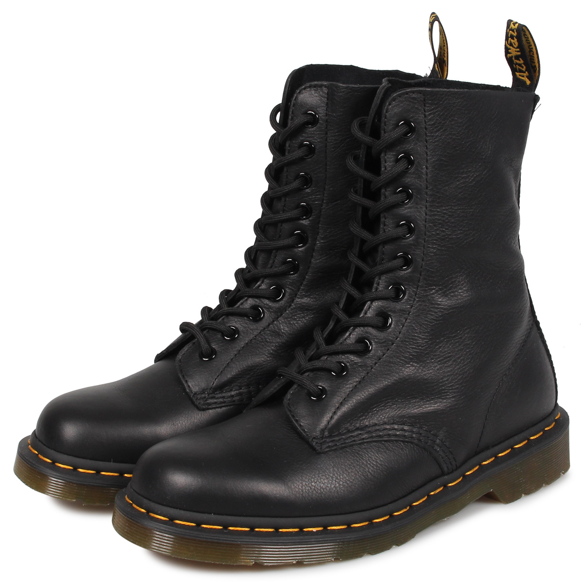Dr.Martens 1490 W 10EYE BOOT ドクターマーチン 10ホール ブーツ メンズ レディース ブラック 黒 R22524001