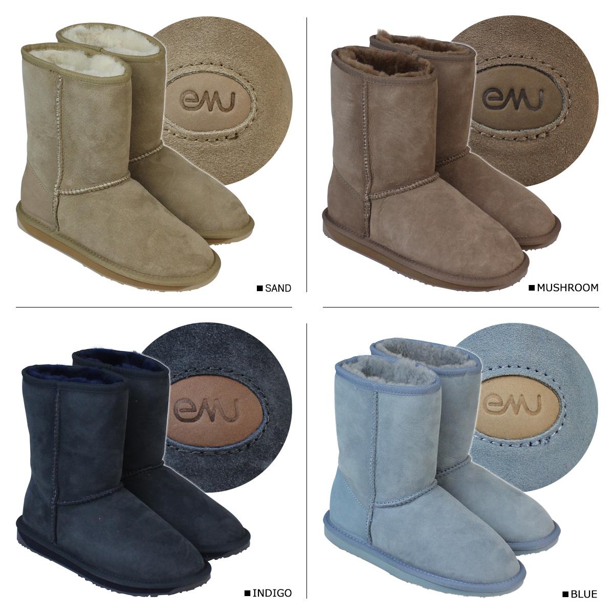 a1069923c590 EMU EMU Stinger Lo Sheepskin boots W10002 STINGER LO Sheepskin Womens mens  boots