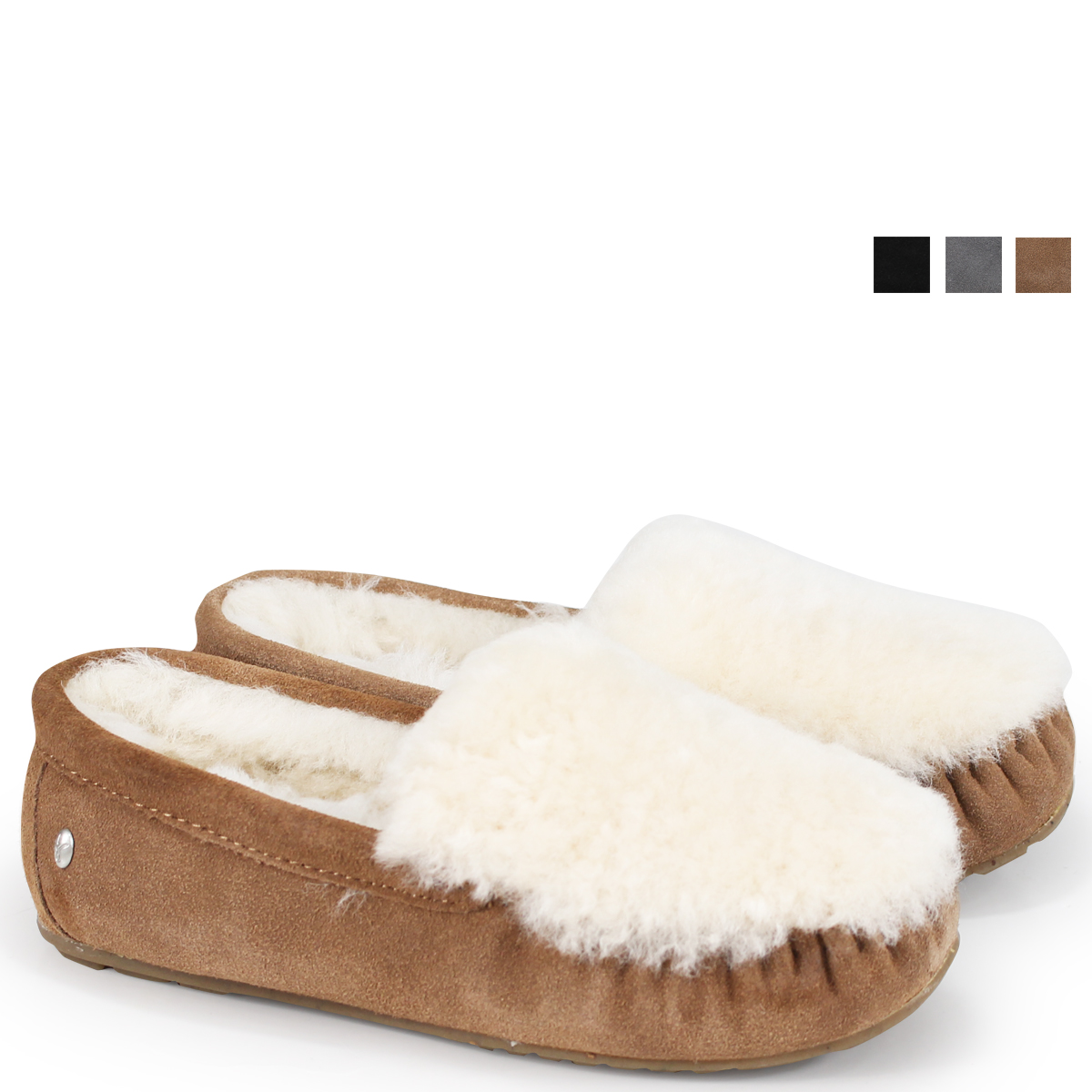 ALLSPORTS | Rakuten Global Market: emu CAIRNS REVERSE FUR emu moccasins Cairns reverse fur W11705 Lady's [load planned Shinnyu load in reservation product 9/14 containing] [189]