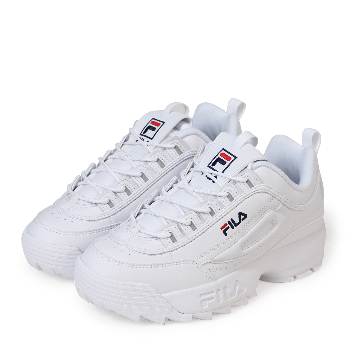 top-rated fashion promotion hot sales FILA DISRUPTOR 2 フィラディスラプター 2 sneakers men gap Dis white FS1HTA1071X [191]