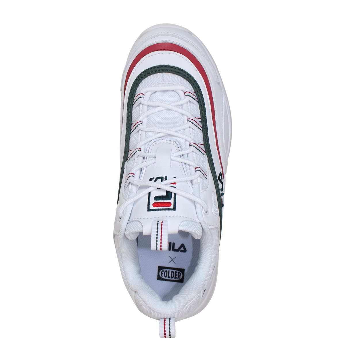FILA FOLDER FILARAY SMU Fila Fila lei sneakers men gap Dis folder collaboration white FLFL8A1U10 FS1SIA1166X WGN