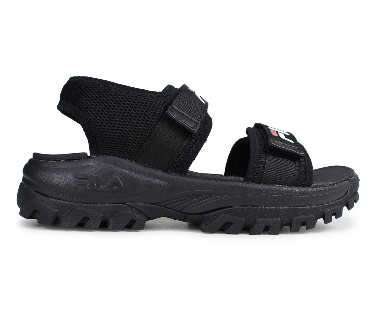 b4c3ba80 FILA RAY TRACER SD Fila tracer sandals sports sandals men gap Dis thickness  bottom black black FS1SIB2011X-BBK [195]