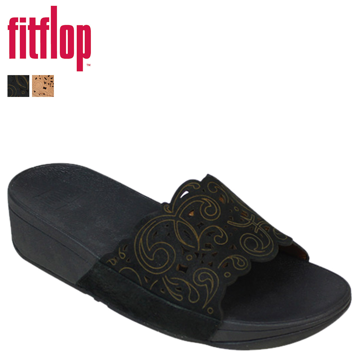 a1afb1c0ad62f «Pre-order items» «5 / 13 around some stock» fit flops FitFlop women's  flora Slide Sandals FLORA SLIDE nubuck 500 2 color [5 / 13 new stock]  [regular] ...