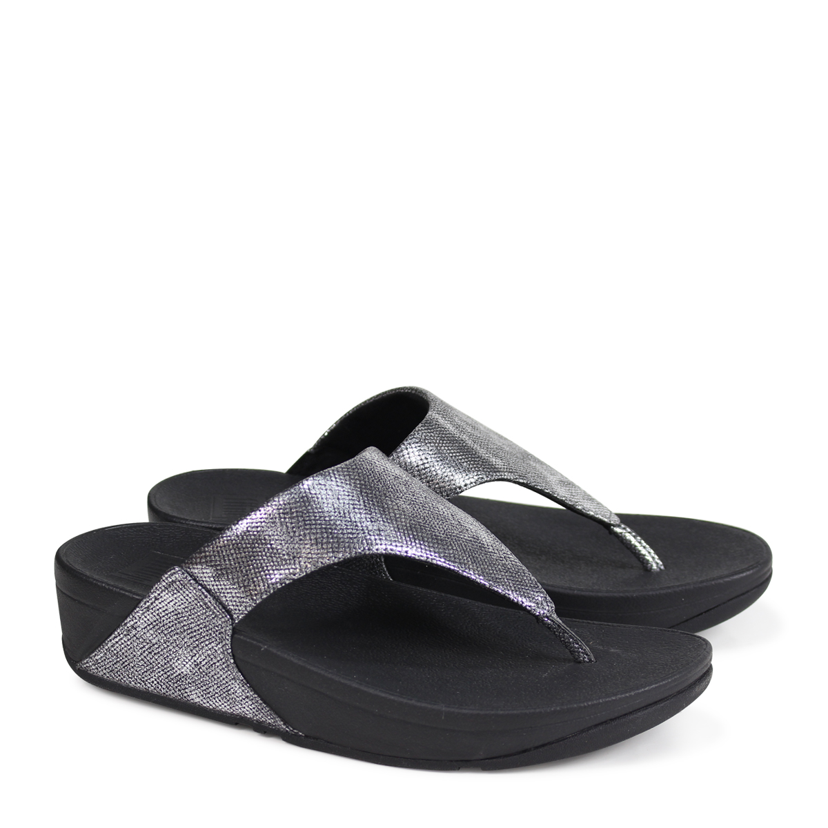 d8a6e27aae6 ALLSPORTS  FitFlop LULU TOE-THONG SANDALS SHIMMER-PRINT sandals ...