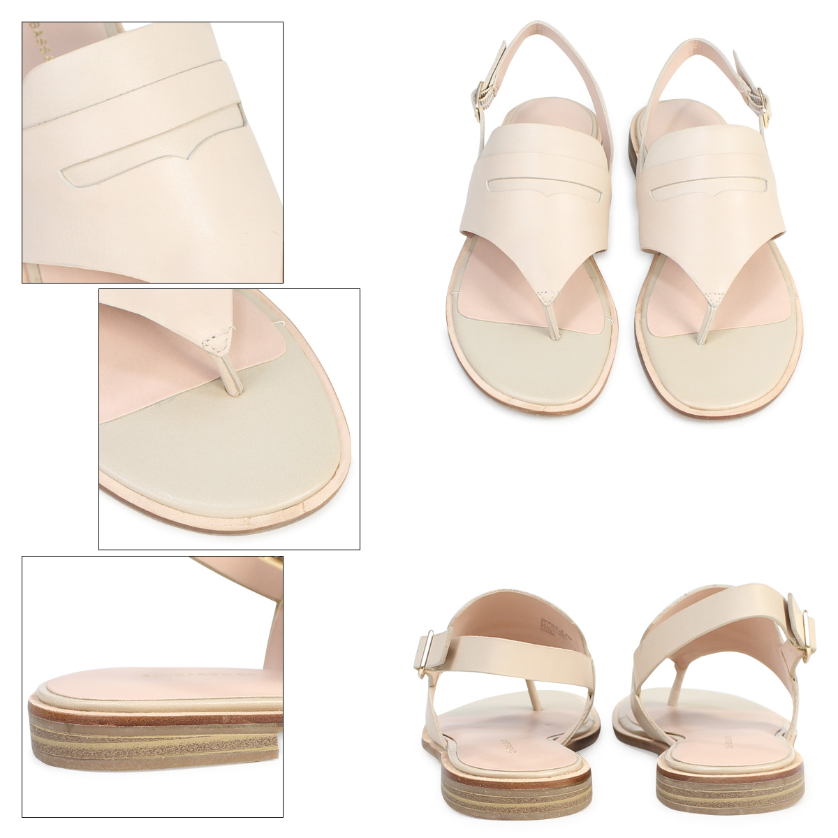 fd0ce79476a G H bus sandals Lady's G.H. BASS tong ankle strap MADDIE THONG SANDAL  71-20,330 shoe polish [177]