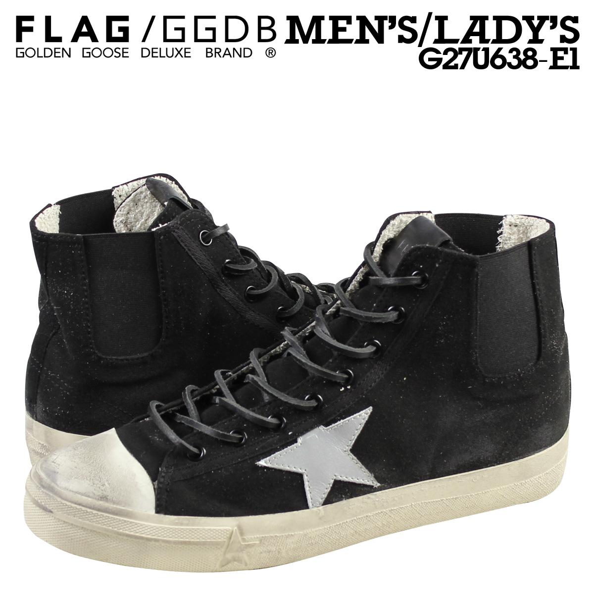 这金鹅男式女式 V 明星运动鞋最好作出在意大利 G27U638 E1 黑 [11 / 21 新股票]
