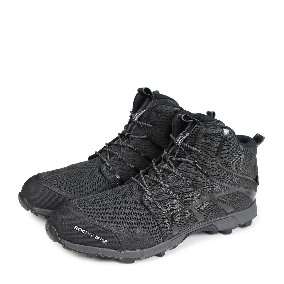 inov-8 ROCLITE 286 GTX UNI イノヴェイト ロックライト シューズ トレイルランニングシューズ靴 IVT2525U2 メンズ ブラック [189]