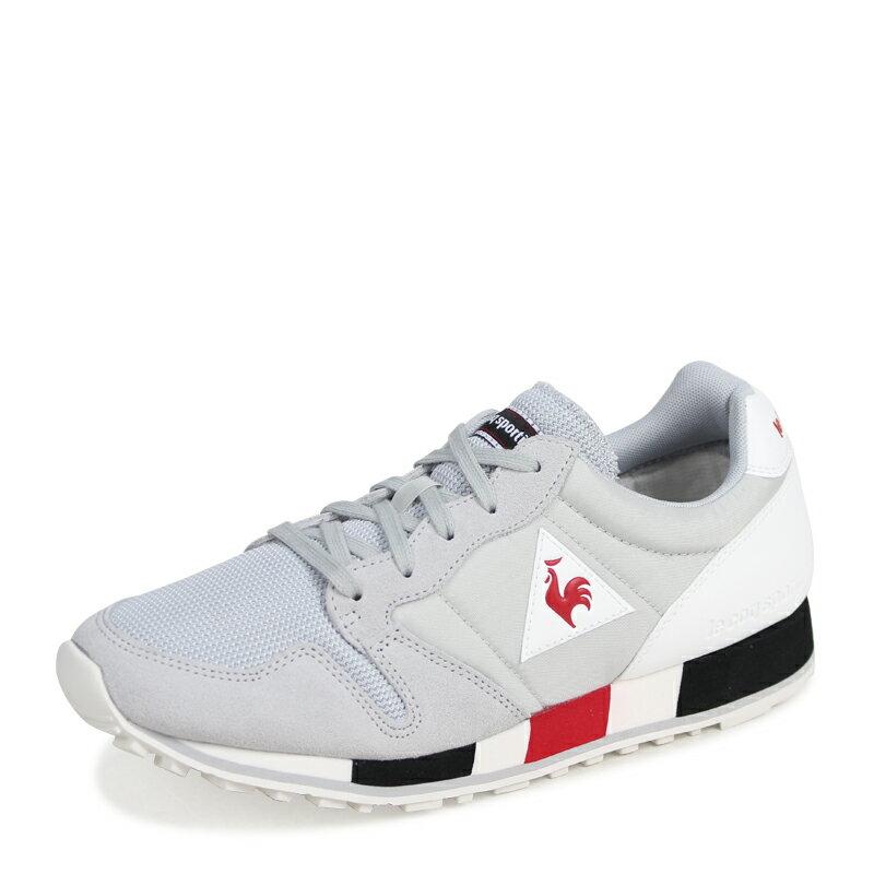 eff199f33833 ALLSPORTS  le coq sportif OMEGA NYLON Le Coq Sportif men sneakers omega  nylon gray 1810186  3 1 Shinnyu load   183