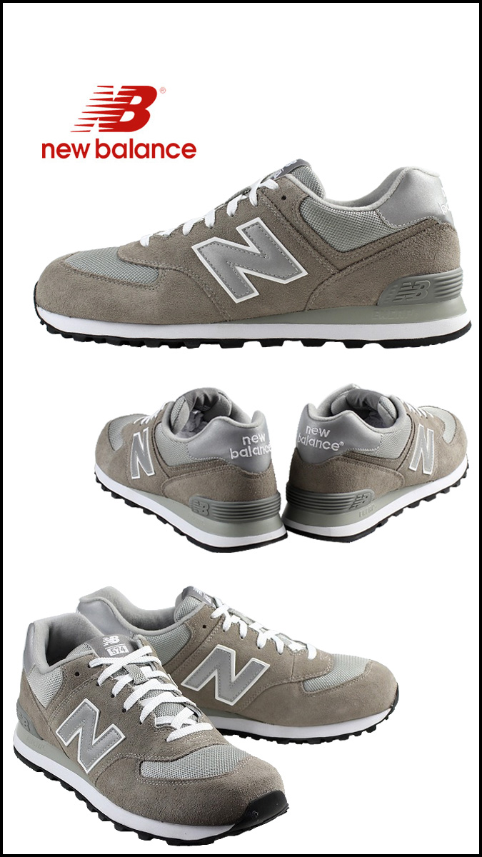 New Balance new balance M574GS sneakers D Wise suede men suede cloth