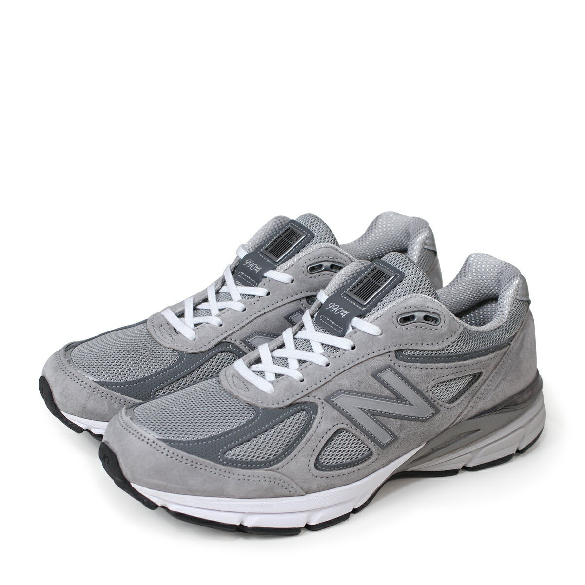 half off 1f323 66a1c new balance 990 New Balance sneakers men D Wise gray M990GL4 [193]