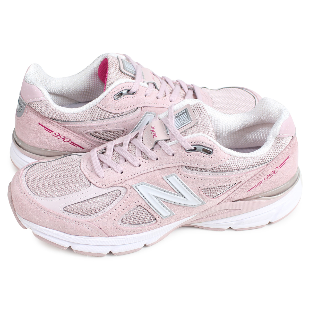factory price 2d03d 110e7 new balance M990KMN4 New Balance 990 sneakers men MADE IN USA D Wise pink  [193]