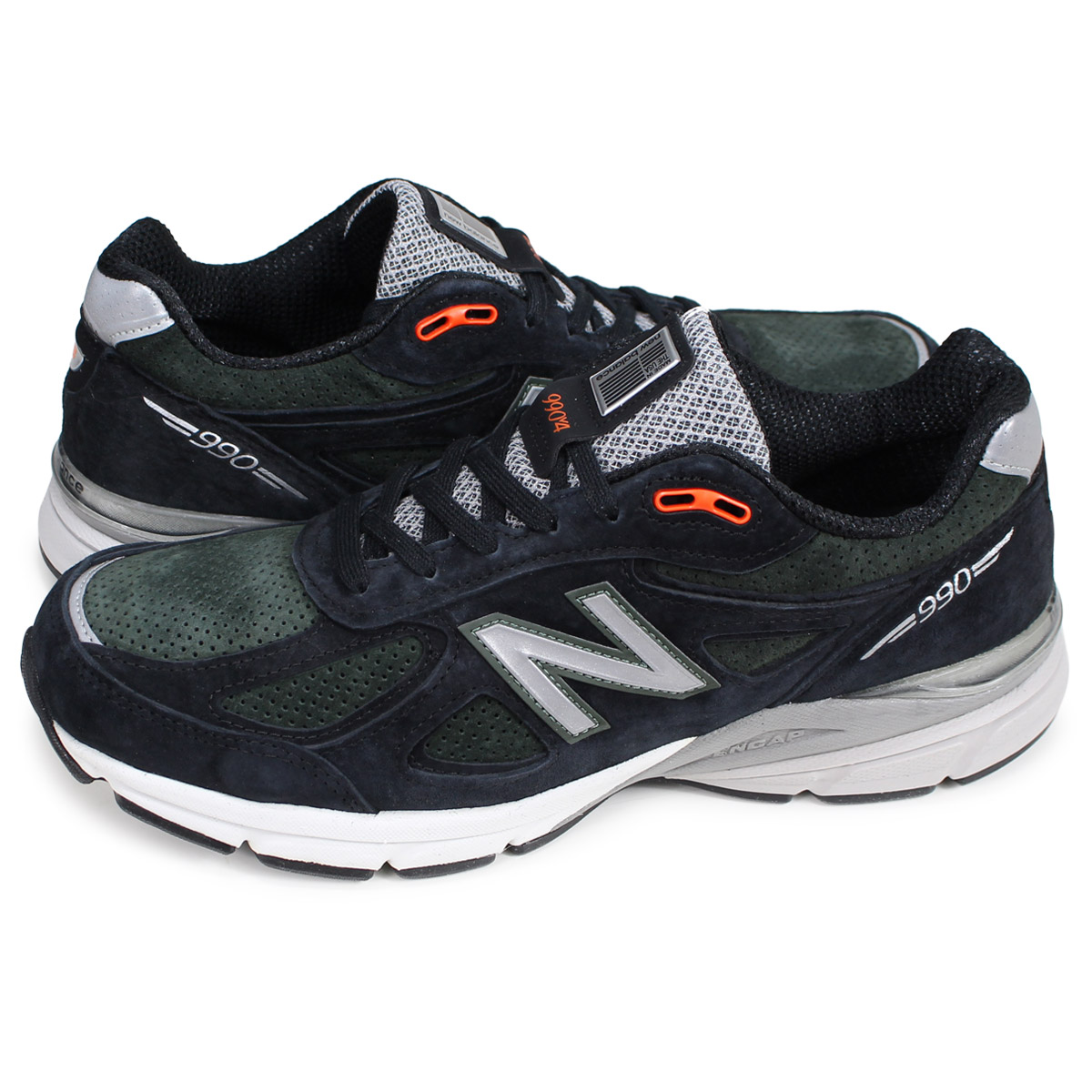 new style c0452 1672a new balance 990 New Balance sneakers men D Wise MADE IN USA olive M990MB4  [193]