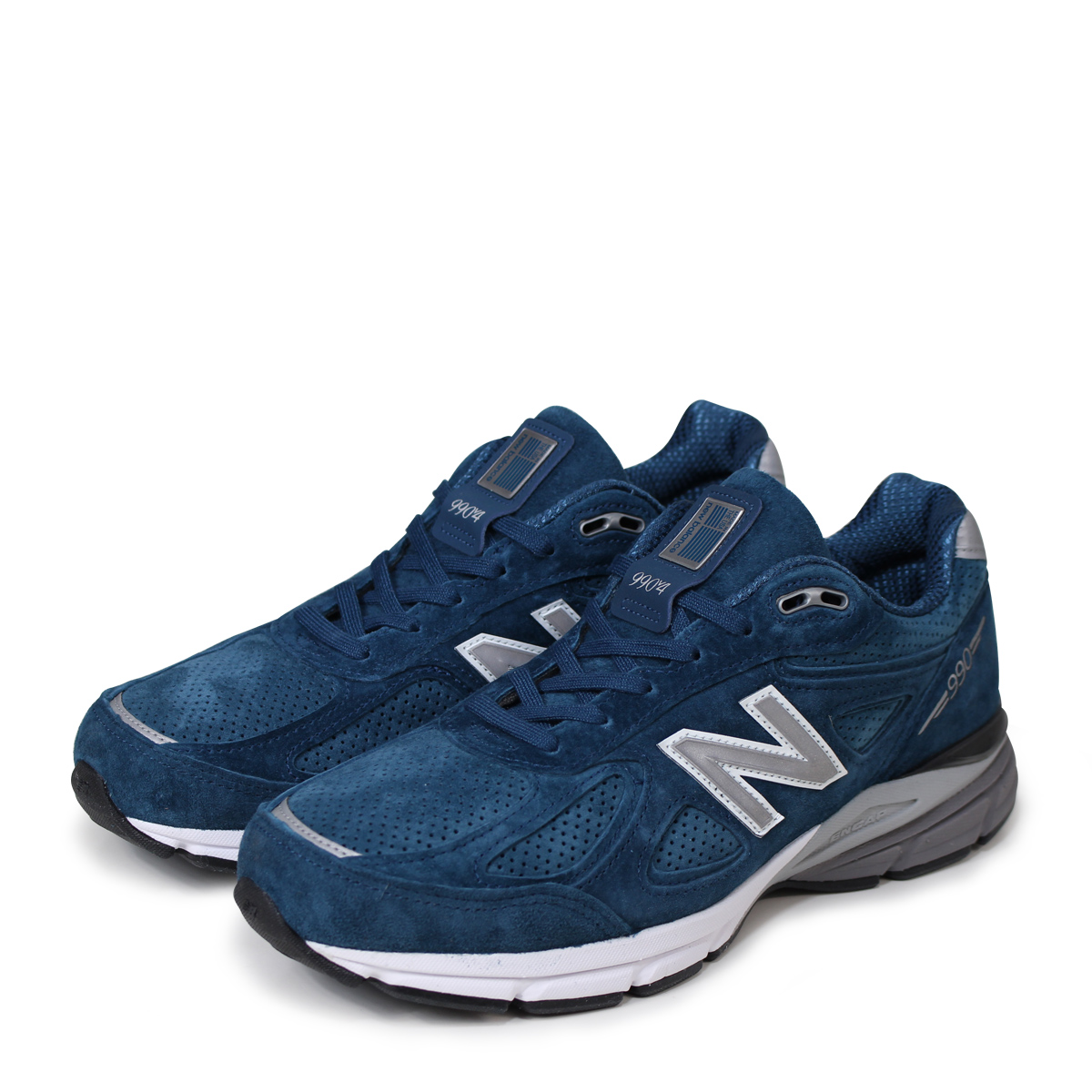 huge discount 71e46 aa524 new balance M990NS4 New Balance 990 men's sneakers D Wise MADE IN USA blue  [193]