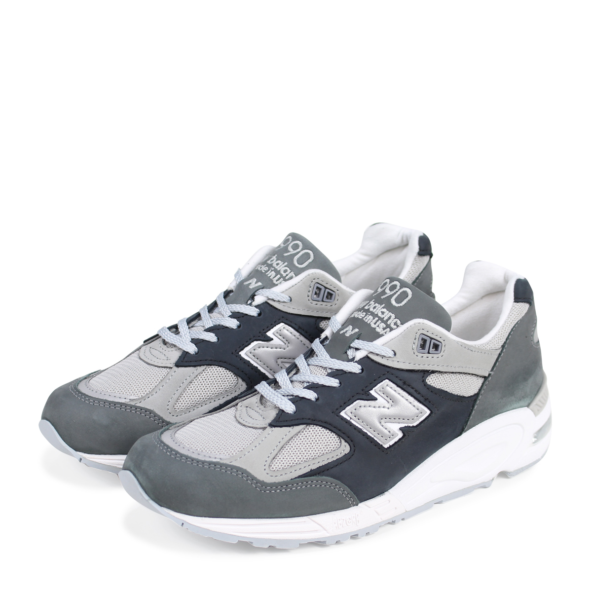 new balance 990 New Balance sneakers men D Wise MADE IN USA gray M990XG2  [193]