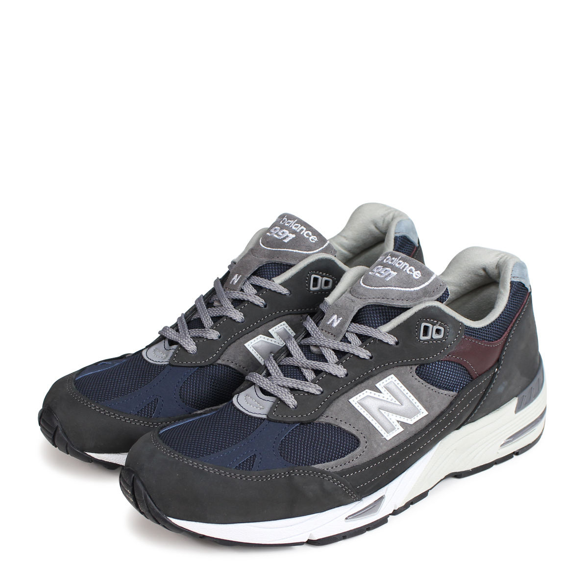 new balance M991GNN MADE IN UK New Balance 991 men's sneakers D Wise gray [193]