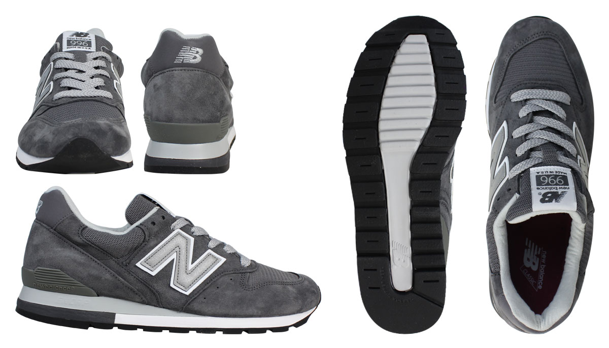 new balance New Balance 996 sneakers M996CGY MADE IN USA men shoes gray