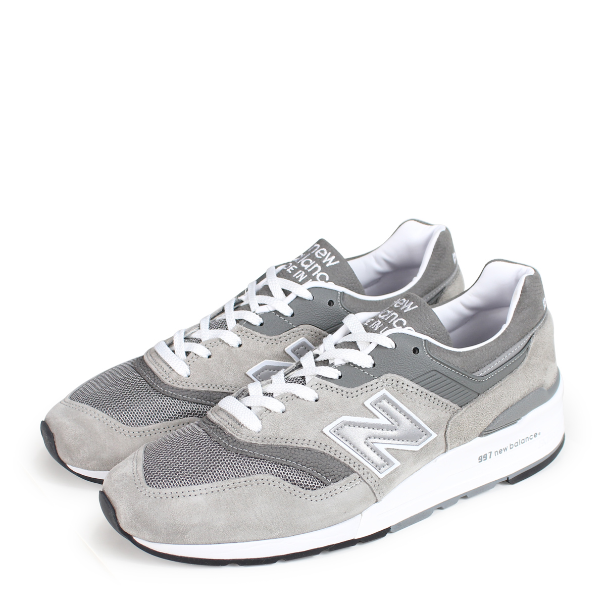 quality design 58433 c9019 new balance M997GY2 New Balance 997 men's sneakers D Wise MADE IN USA gray  [193]