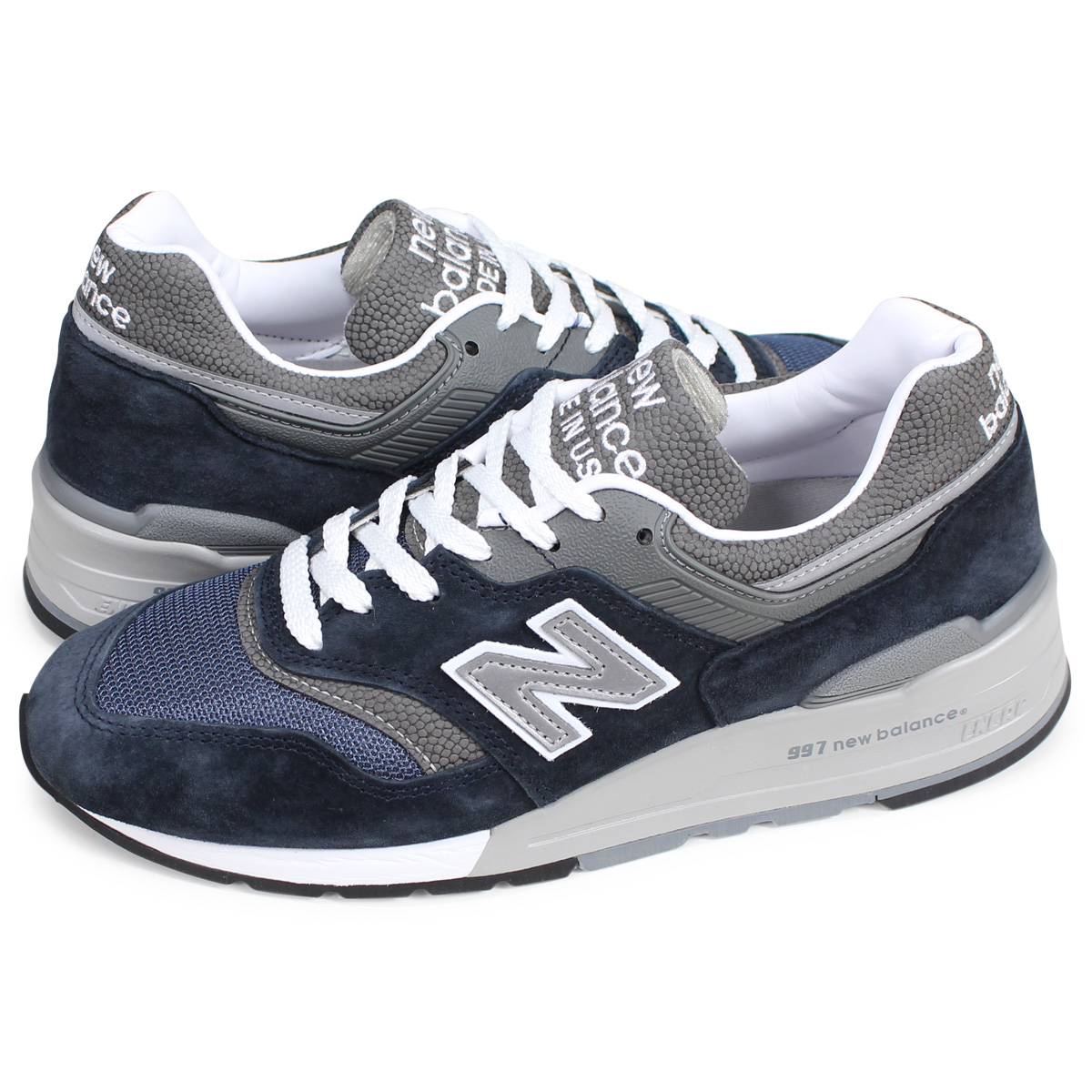 6faa964bc8c6d new balance M997NV New Balance 997 sneakers men gap Dis D Wise MADE IN USA  navy ...