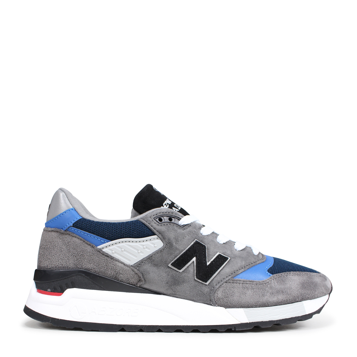 half off 3b39e d81be new balance M998NF New Balance 998 men's sneakers D Wise MADE IN USA gray  [9/13 Shinnyu load] [189]
