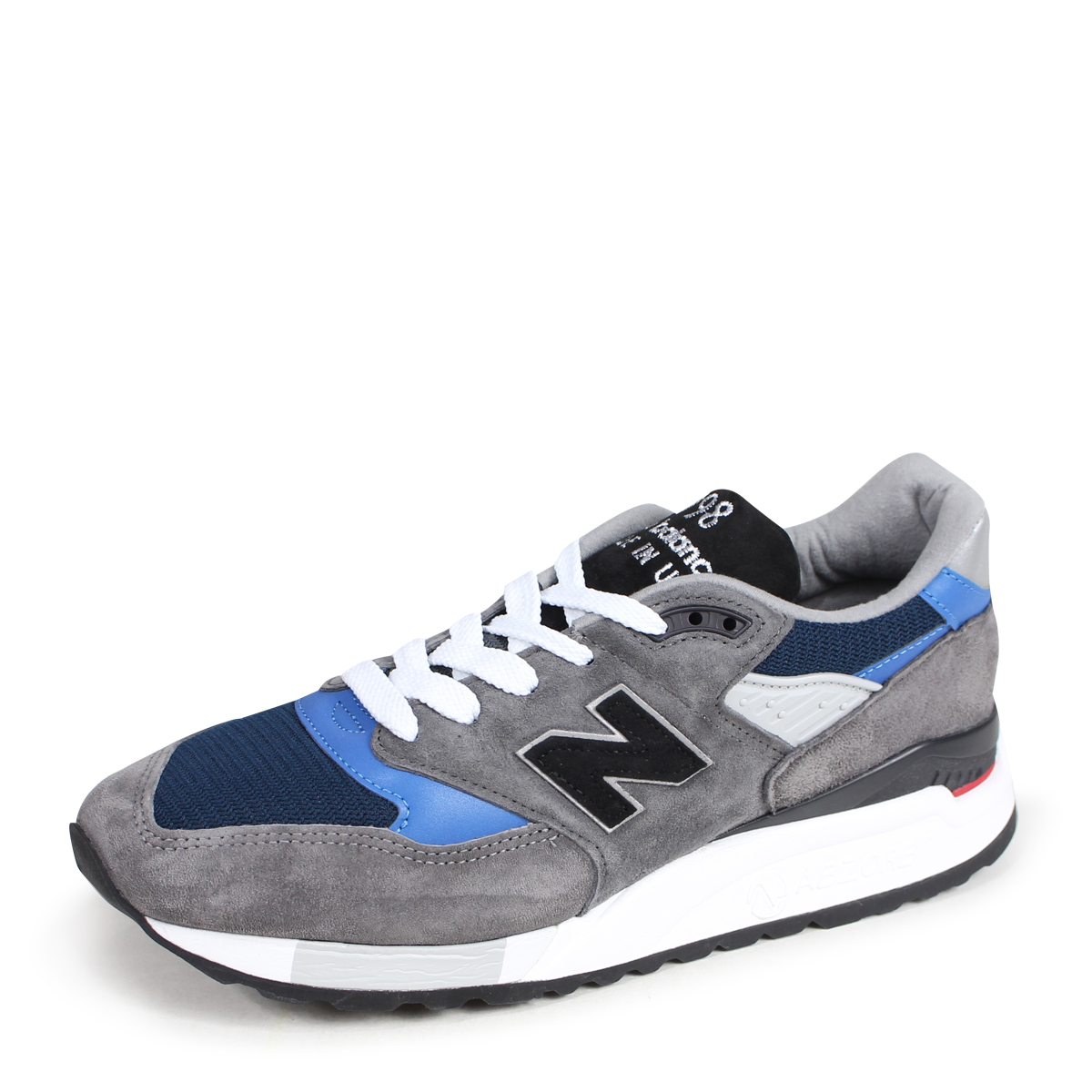 half off 454f9 e311f new balance M998NF New Balance 998 men's sneakers D Wise MADE IN USA gray  [9/13 Shinnyu load] [189]
