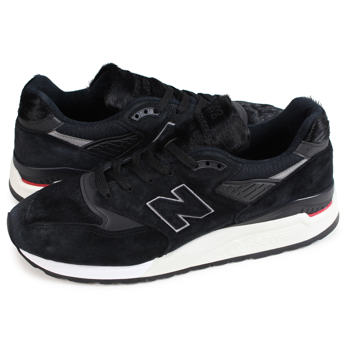 best website c3f08 75111 new balance M998TCB New Balance 998 men's sneakers D Wise MADE IN USA black