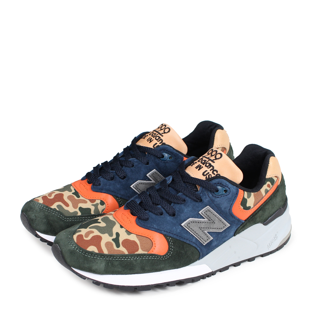 new balance M999NI New Balance 999 men's sneakers D Wise MADE IN USA duck [195]