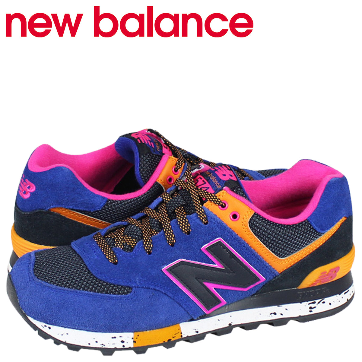 new style c6c59 61269 new balance New Balance 574 sneakers ML574BO D Wise men shoes blue